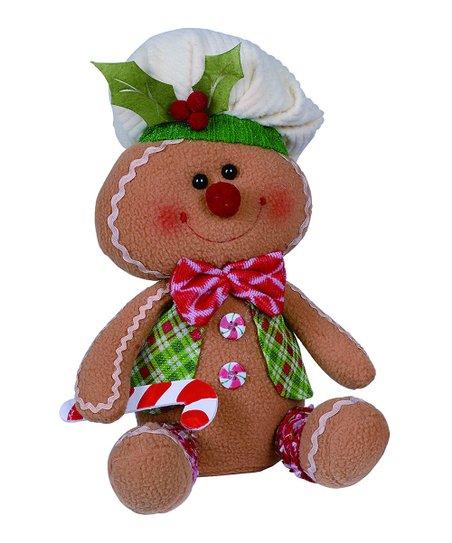 Plush Gingerbread Shelf Sitters w