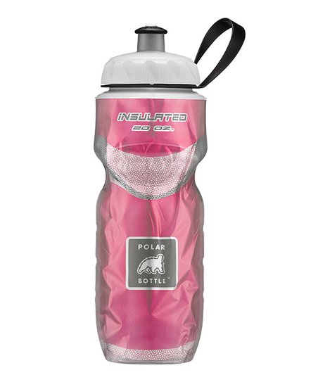 WATER BOTTLE POLAR INSULATED RED 20 OZ