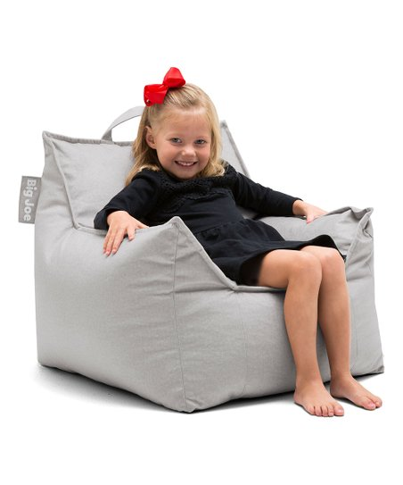 Brilliant Big Joe Gray Fog Mitten Armchair Beanbag Theyellowbook Wood Chair Design Ideas Theyellowbookinfo