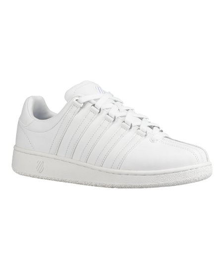 K-Swiss White Classic VN Leather