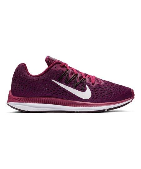 True Berry &Amp; Bordeaux Zoom Winflo 5 Running Shoe   Women by Nike