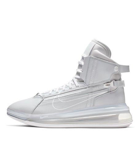 Nike Pure Platinum & White Air Max 270 SATRN Leather