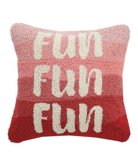 Pink Peking Handicraft Get It Girl Hook Pillow