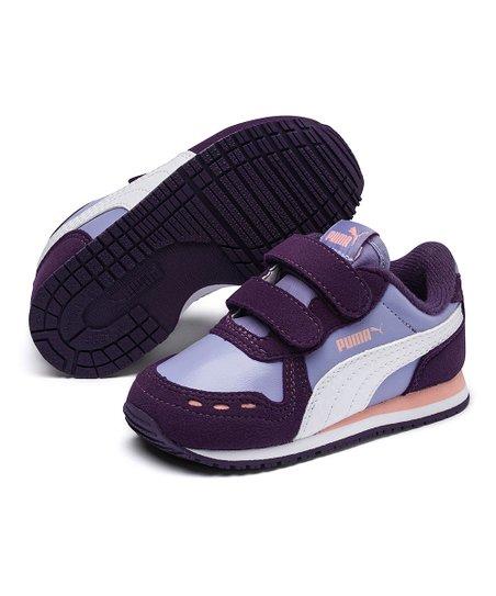 PUMA Lavender & Indigo Cabana Racer Sneaker - Girls