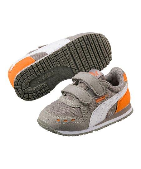 PUMA Rock Ridge & Orange Cabana Racer Sneaker - Kids | Zulily
