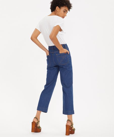 aterrizaje profundamente bestia  7 For All Mankind Avant Rinse Baby Jo Crop Jeans - Women | Best Price and  Reviews | Zulily