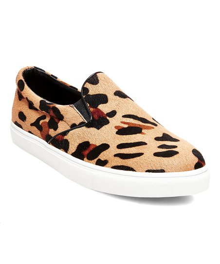 Steve Madden Leopard Ecentrcl Slip-On