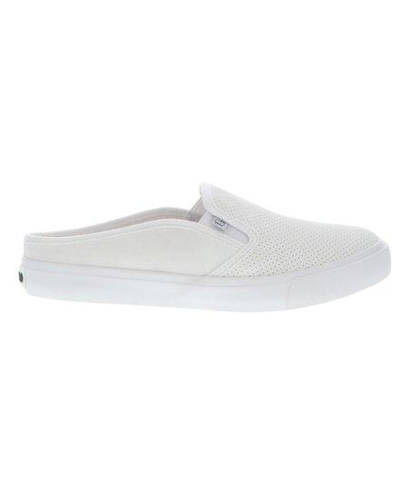 Lamo White Perforated Amira Slip-On