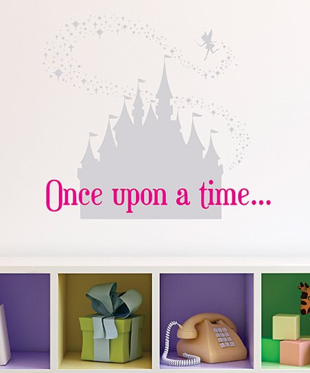 Wall Quotes™ by Belvedere Designs Fairytale Castle & Pixiedust Wall Quotes™  Decal