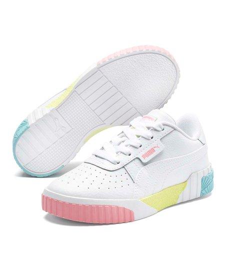 PUMA White Cali Summer Splash Sneaker