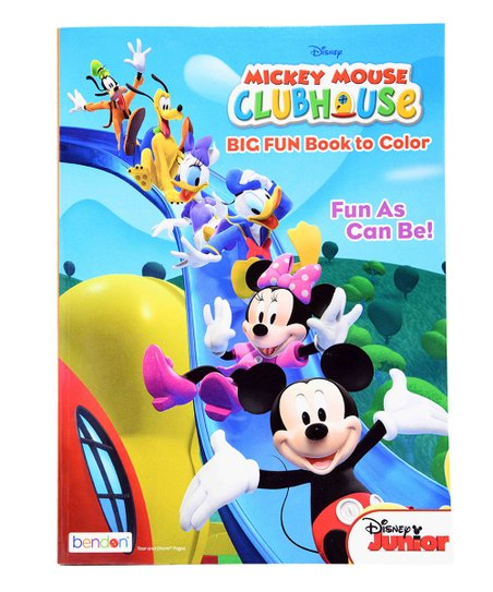 - UPD Mickey Mouse Clubhouse Fun As Can Be Coloring Book Best Price And  Reviews Zulily