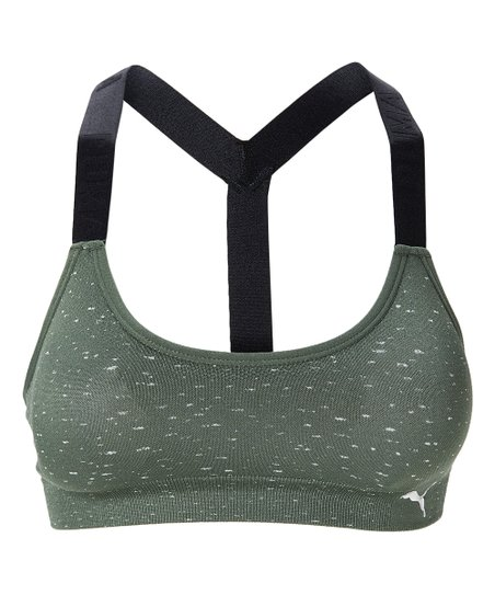 Puma Sage Heather Seamless T Back Sports Bra Best Price And Reviews Zulily