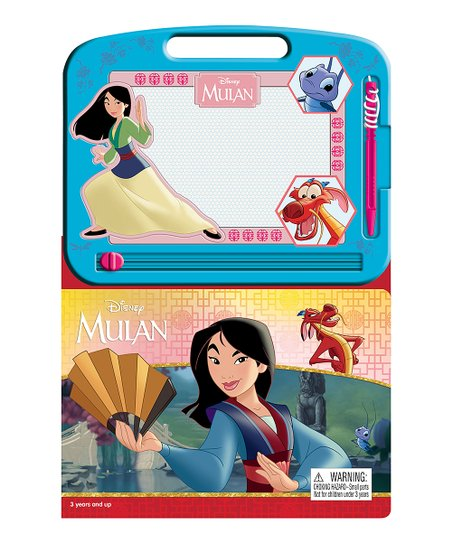 Phidal Publishing Disney Mulan Learning Series Drawing Pad Book Best Price And Reviews Zulily