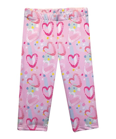 Mondays Child Pink Hearts Capri Leggings Infant Toddler Girls Best Price And Reviews Zulily