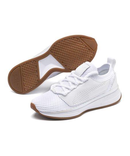 Selena Gomez Puma White Running Shoe