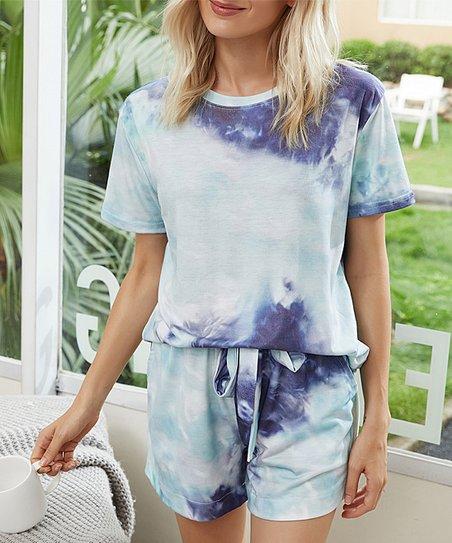 Unisex Tie Dye Shorts Decoloured Short woman Tie Dye