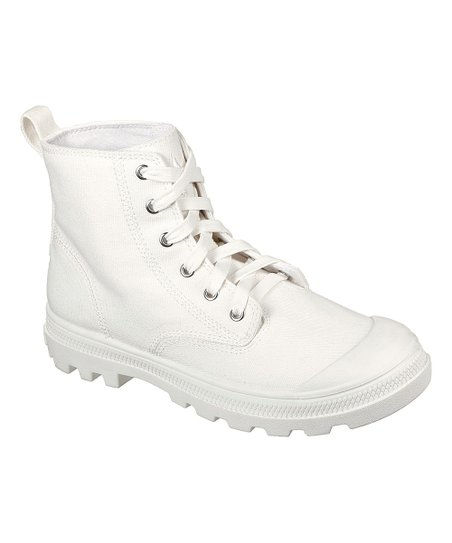Skechers White Mountbay Sneaker Boot