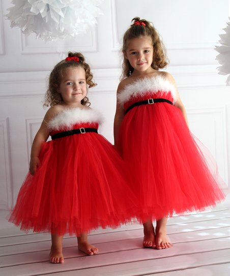e59728c45 love this product Red Santa Tutu Dress - Infant, Toddler & Girls
