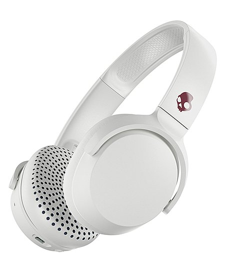 Skullcandy White Crimson Riff Bluetooth On Ear Headphones Best Price And Reviews Zulily