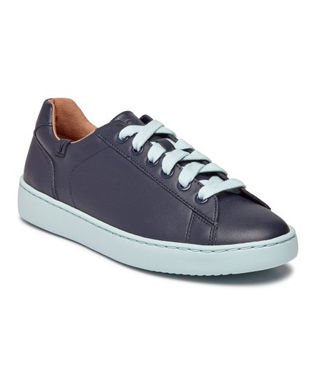 Vionic Navy Mable Pro Leather Sneaker