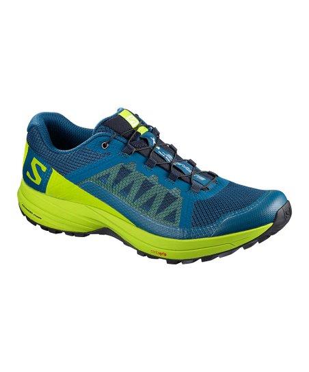 \u0026 Lime Green Elevate Mesh Sneaker - Men