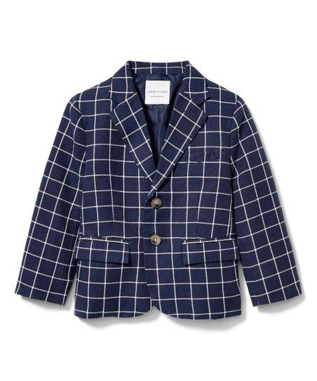 Janie and Jack Windowpane Blazer Sport Coats /&