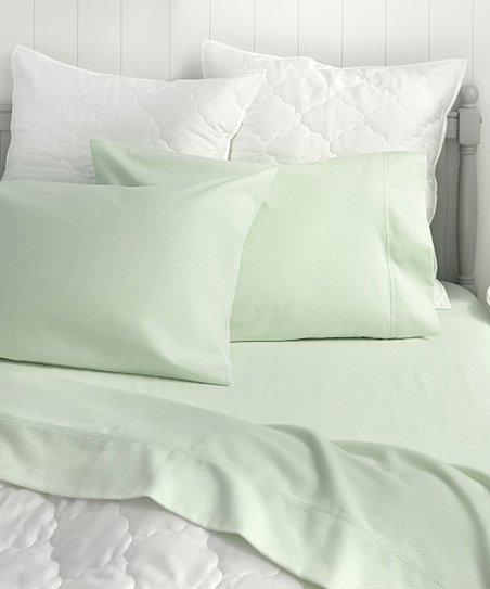 Martha Stewart Sage Herringbone Flannel Cotton Sheet Set Best Price And Reviews Zulily