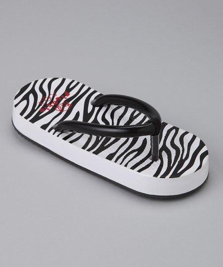 cfbdd4323 love this product Zebra Floatie Flip-Flop