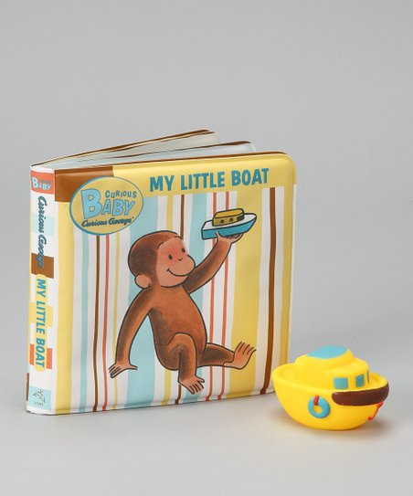 Curious George Baby My Little Boat Bath Book