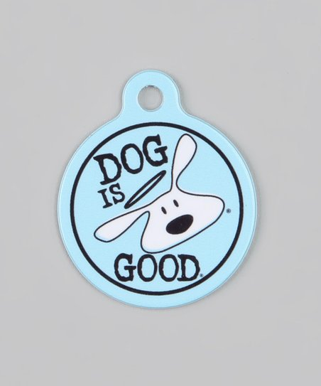 Dog is Good and Cat is Good Blue 'Dog is Good' QR Code Pet Tag & Annual  Subscription