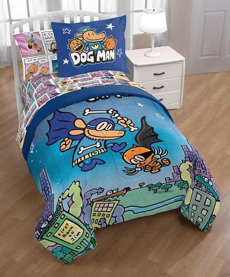 Jay Franco Dog Man Supa Buddies 1 Single Sham Official Dog Man Product Kids Super Soft Bedding