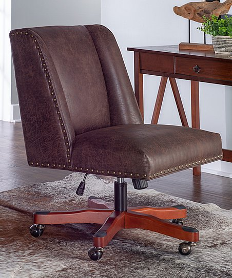 Linon Home Brown Draper Office Chair Best Price And Reviews Zulily