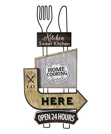 Ganz Kitchen Sweet Kitchen Rustic Wall Art Best Price And Reviews Zulily