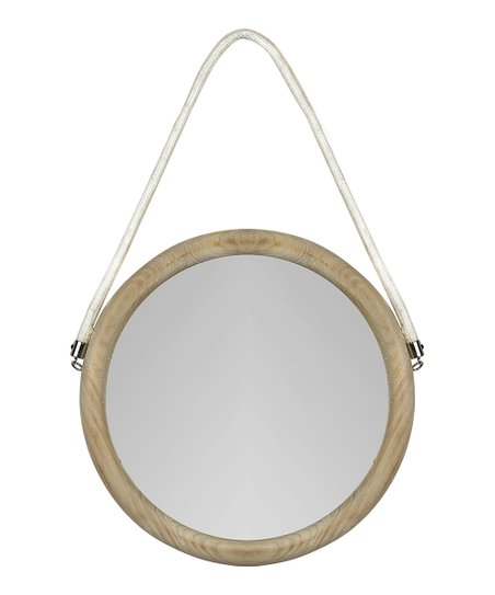 Wood Rope Gigi Hanging Wall Mirror Best Price And Reviews Zulily