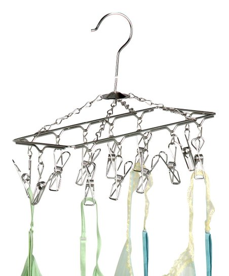 Honey Can Do Chrome Hanging Drying Rack Zulily