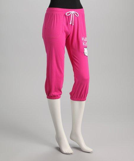 391ad6961 love this product Pink Hello Kitty Capri Sweatpants - Women