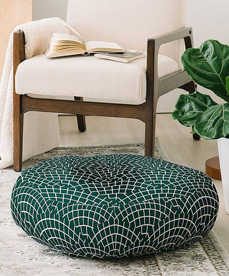 Deny Designs Holli Zollinger Mosaic Scallop Marine Floor Pillow Best Price And Reviews Zulily