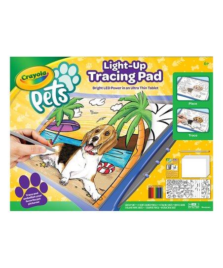 Light-Up Pet Tracing Pad Art Set