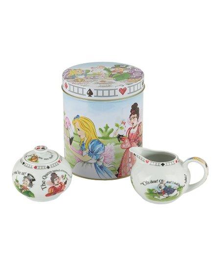 Cardew Design Alice In Wonderland Tea Accessory Set Zulily