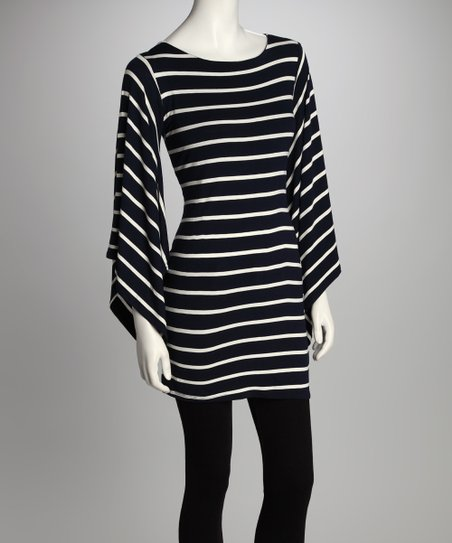 460d78cd3827 love this product Navy & White Stripe Dolman Tunic