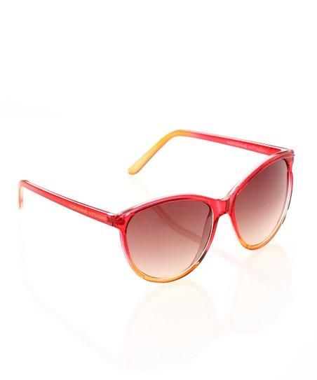 07cd56b9599 Adrienne Vittadini® Pink Ombré Sunglasses