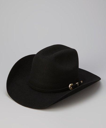 721f28df Bullhide Hats Black Kingman Junior Cowboy Hat - Kids   Zulily