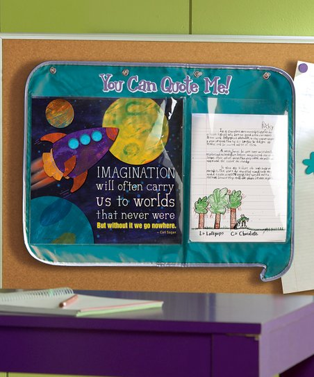educational insights® you can quote me activity center zulily