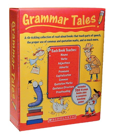 Scholastic 0439458153 grammar tales, 120-page teaching guide, for.