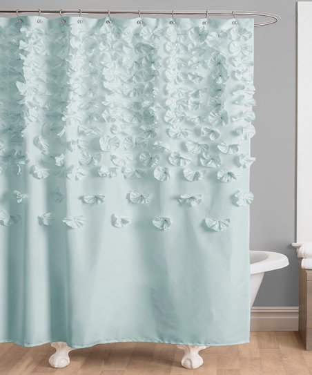 Love This Product Blue Lucy Shower Curtain