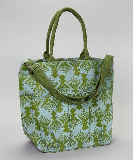 Rockflowerpaper Green Tulip Weekender Bag Zulily