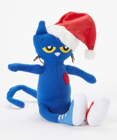 Pete The Cat Saves Christmas.Merrymakers Pete The Cat Saves Christmas Plush Toy