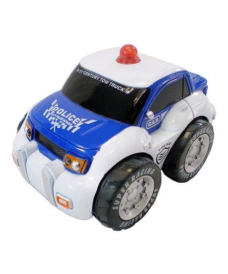 DIY KIDS My First Blue Remote Control Police Car