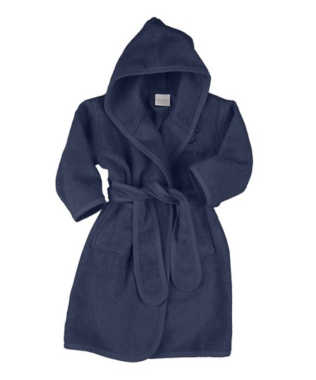 36bf4960af21 Those Baby Basics Marine Bathrobe