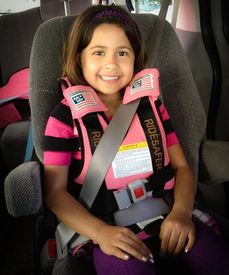 Pink RideSafer 3 Travel Vest